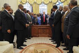trump oval office pictures trump meets with leaders of black colleges the new indian express