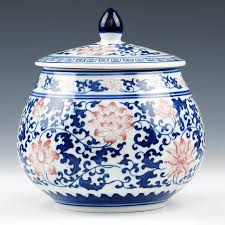 aliexpress com buy blue and white with lid jingdezhen chinese