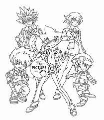 beyblade team coloring page for kids manga anime coloring pages