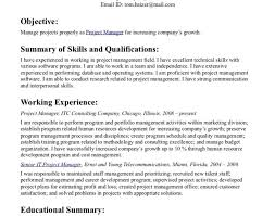resume objective statement resume good resume objective