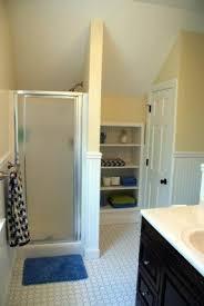 Behind Bathroom Door Storage Behind The Toilet Storage Foter