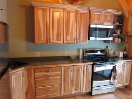 Creative Ideas For Kitchen Cabinets by Amazing Hickory Wood For Kitchen Cabinets Creative Kitchen Design