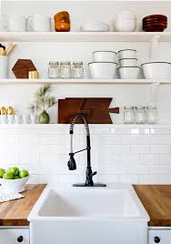 how to organize open kitchen cabinets 10 kitchens with open shelving house mix