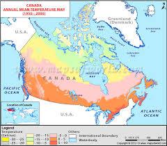 temperature map annual temperature map