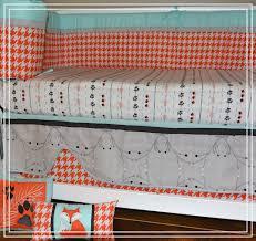 Baby Dinosaur Crib Bedding by Dkl Designs Clever As A Fox Crib Bedding Set
