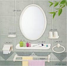 gorgeous bathroom accessories mirror best mirror bathroom