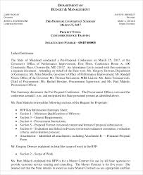 customer service proposal templates 6 free word pdf format