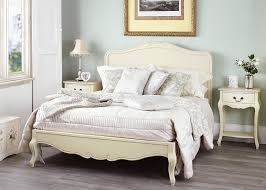 juliette shabby chic champagne double bed 5pc bedroom furniture