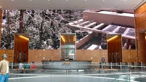 Falling Water Interior Falling Water At Comcast Building Philadelphia Youtube