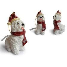 maltese hanging tree ornaments trees decor for
