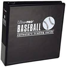 baseball photo album ultra pro 3 blue baseball album sports related