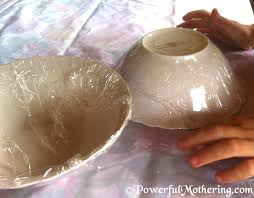 Paper Mache Christmas Crafts - mache bowl craft