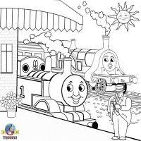 colouring pages thomas u0026 friends games