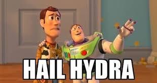 Hail Hydra Meme - hail hydra my new favorite meme