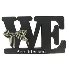 we are blessed black wood word hobby lobby 940072