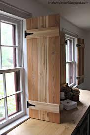 Interior Shutters For Windows Ana White Interior Cedar Shutters Feature By Pretty Handy