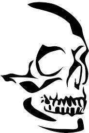 halloween makeup stencils eigenmarke stencil schablone skullkopf art how to stencils
