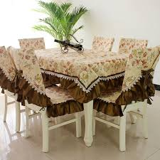 cloth chair covers hot sale fashion dining table cloth chair covers cushion tables