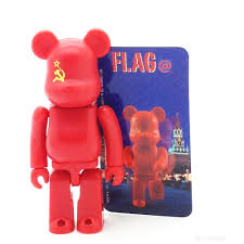 Russian Flag Colors Bearbrick Series 4 Soviet Union Russia Flag 100 Size Mindzai