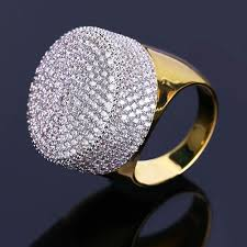 diamond ring for men design 2018 hiphop diamond rings for men brand design cz ring gold