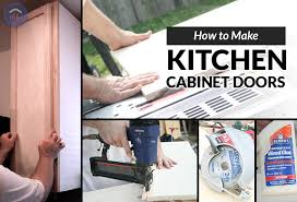 can i make my own kitchen cabinet doors how to make kitchen cabinet doors the happy