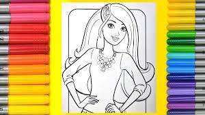 coloring fashion barbie magic colouring book magic colouring