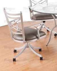 Chair Casters For Laminate Floors Tempo Furniture New Rochelle Swivel U0026 Tilt Arm Chair With Casters