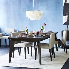 X Leg Dining Table Angled Leg Expandable Table West Elm