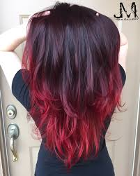 Purple Remy Hair Extensions by Hair Color Red Hair Purple Hair Ombré Jm Hair Gallery
