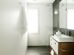 Shiny Or Matte Bathroom Tiles Bathroom Large Matt White Tiles On Wall Black Penny Round Mosaic