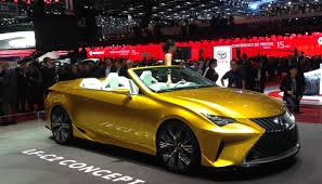 lexus lf c2 highlights of the geneva motor show 2015