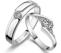 his and hers bridal matching wedding rings for his and hers wedding idea
