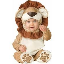 3 Month Baby Halloween Costumes Lovable Lion Infant Halloween Costume Walmart