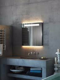 argent led light bathroom mirror light mirrors