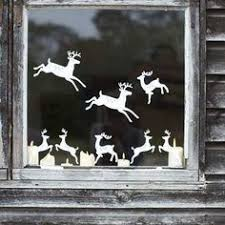 White Christmas Paper Decorations by Window Paper Decoration Paper Cutting For Christmas1 In Window