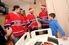 chambre canadien de montreal la visite des canadiens de montréal hopital de montreal pour enfants