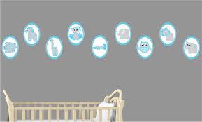 Owl Wall Decals Nursery by Nursery Wall Decor Roselawnlutheran