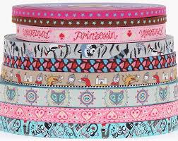 woven ribbon pink blue woven ribbon notions fabric kawaii shop
