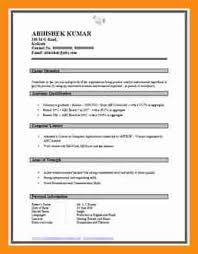 Fresher Resume Model 100 Php Fresher Resume Term Papergold Resume Central