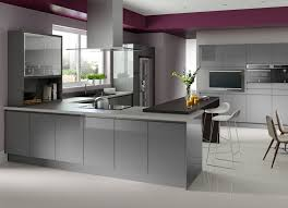 gloss kitchen ideas light grey gloss kitchen arminbachmann