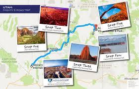 Utah National Parks Map Utah Advantage Official Site