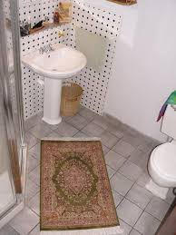 Rug In Bathroom Rugs In Small Spaces Fair Trade Bunyaad Rugs