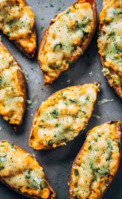 healthy thanksgiving sweet potato recipes healthy sweet potato skins recipe pinch of yum