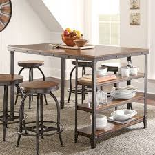 bar height table industrial the various furniture bar height dining table best of room on about