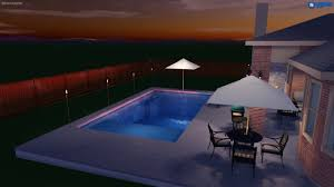 fiberclassy pools 3d pool design the 30 u0027 youtube
