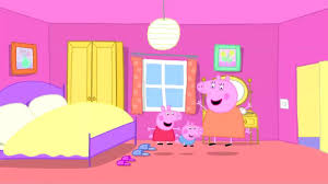 peppa pig geogre and mummy pig in the bedroom youtube