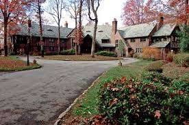 residential glenridge hall the mansion from tv series the it s official mercedes benz plans to move its u s headquarters to