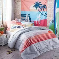 Pink Striped Comforter Hang Ten Sunset Stripe Comforter Set Bed Bath U0026 Beyond