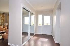 Mirror Sliding Closet Doors Built In Closet Made From Mirrored Sliding Closet Doors Underneath