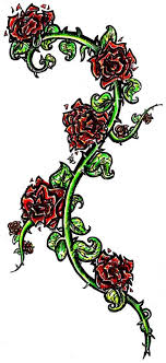 collection of 25 vine and roses designs